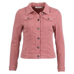Enjoy sweatstof jasje vintage rose