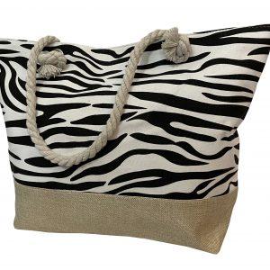Strandtas zebra