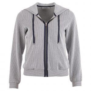Enjoy vest met capuchon indigo
