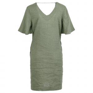 Enjoy jurk dubbele v-hals km 2 zakjes