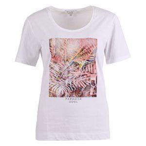 Enjoy t-shirt km front print paradise soul