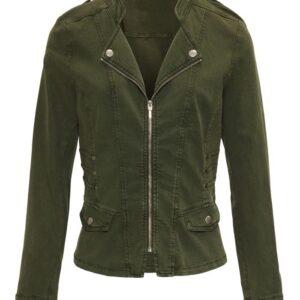 Dreamstar jas Moda in het army groen