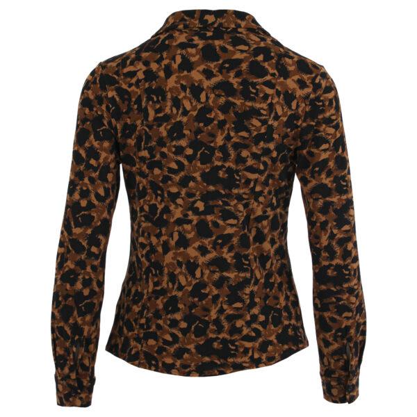 Enjoy animal print blouse