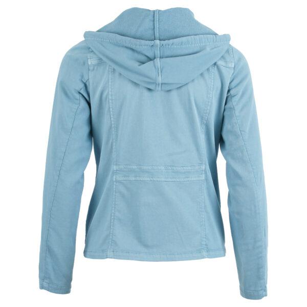 enjoy jasje met capuchon pale blue