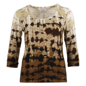 Enjoy t-shirt 3/4 mw rh tie dye print