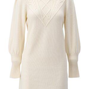 K-design jurk met knopen